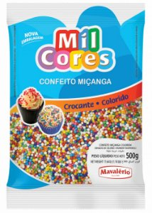 CONF 500G MICANGA N 0 MIL CORES COLORIDA - PC X 1