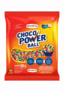 CHOCO POWER BALL 300G MICRO COLORIDO - PC X 1