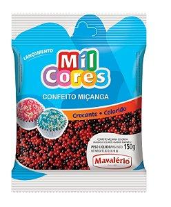 CONF 150G MICANGA N 0 PRETA/VERMELHA - PC X 1