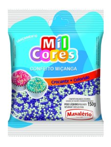 CONF 150G MICANGA N 0 BRANCA/LILAS - PC X 1
