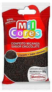 CONF 80G MICANGA MIL CORES CHOC - PC X 1