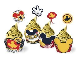 CUPCAKE WRAPPER MICKEY C/12 UN - PC X 1