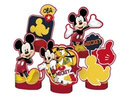 DECORACAO DE MESA MICKEY C/ 5 UN - PC X 1