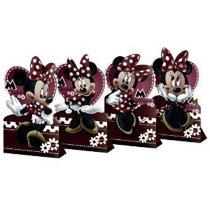 DECORACAO DE MESA C/4 UN MINNIE - UN X 1