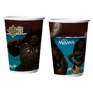 COPO DE PAPEL 180ML MOANA C/8 UN - PC X 1