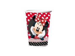 COPO DE PAPEL 330ML MINNIE C/8 UN - PC X 1