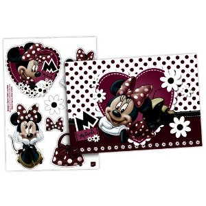 KIT DECORATIVO C/1 UND MINNIE - PC X 1