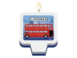 VELA PLANA C/1 UND LONDRES - UN X 1