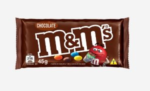 CHOC 45 G M&M'S AO LEITE - CT X 18