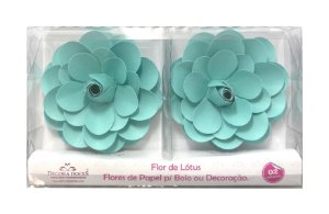 FLOR PAPEL LOTUS C/2 TIFFANY - UN X 1
