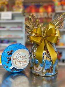 Latinha de biscoito com chocolates para presente - UND