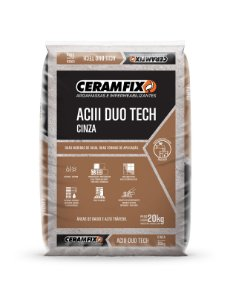 Argamassa ACIII Duo Tech Cinza
