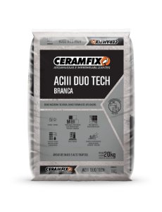 Argamassa ACIII Duo Tech Branca