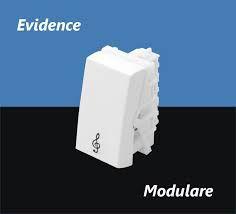 Módulo Pulsador Campainha 16A/250V - Modulare / Evidence