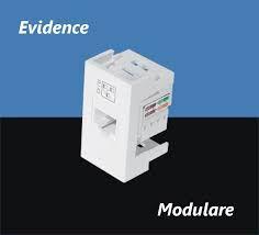 Módulo Tomada para Rede de Informática RJ 45 CAT 6E - 8 Vias - Modulare / Evidence