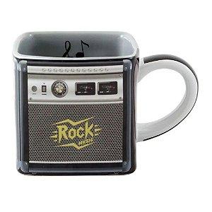 Caneca Cubo Rock Amplificador