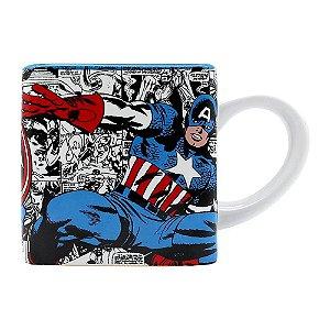 Caneca Cubo Capitão América