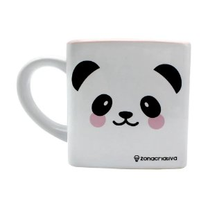 Caneca Cubo Panda