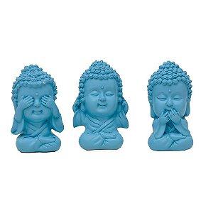 Trio Buda Color Azul