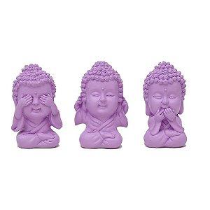 Trio Buda Color Lilás