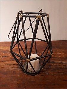 Lanterna met Balat G pto/ouro 39x16cm