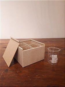 Jogo de Copos vidro Cafezando 4pçs 150ml