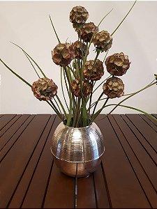 Vaso Oval Orbe pra 20x17cm