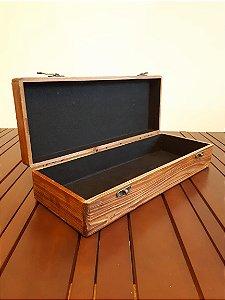Caixa ret madeira 11x47x19cm