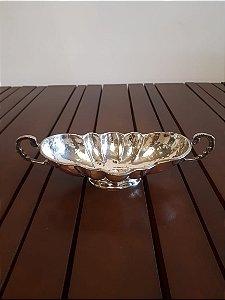 Prato decorativo prata 26x12x8cm