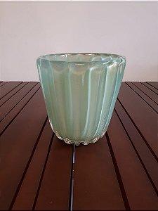 Vaso Cristal Di Murano  vde/our 20x20cm