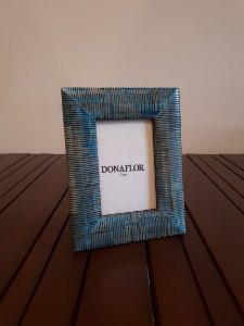 Porta Retrato Osso az 23x18cm