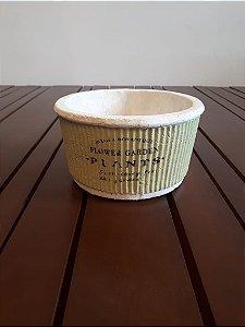 Cachepot Cerâmica Pottery vde 8 x15x15cm