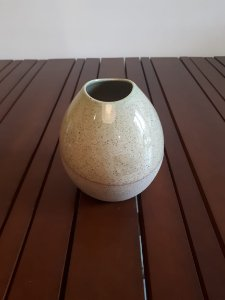 Vaso Cerâmica vd/bg 14x15cm