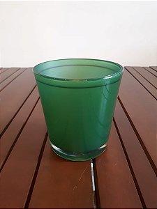 Vaso vidro Nico vde 13x14cm