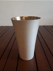 Vaso alumínio Moscou bco 11x19cm