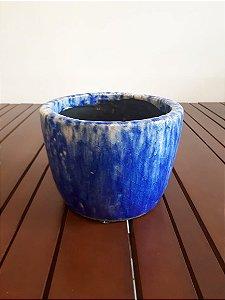 Cachepot Cerâmica G az 14X18cm