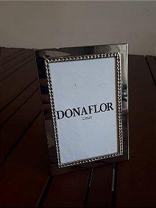 Porta Retrato Metal pta 10x15cm