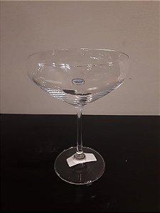 Jogo Taça vidro Champ. Forum transp 340ml 4pçs