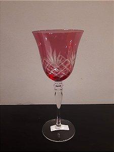 Taça vidro Aguá Clair rosa 320ml