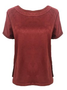 Camiseta Suede Paloma