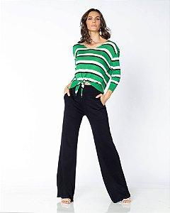 Calça Pantalona Tricot