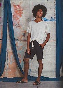 Bermuda de Moletom Masculina