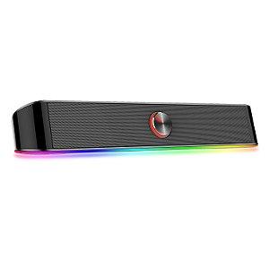 Soundbar Gamer Redragon Adiemus RGB GS560
