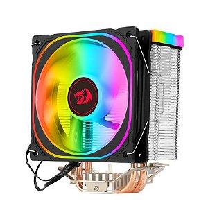 Aircooler Redragon Thor Preto Iluminação Rainbow com Fan de 120mm CC-9103