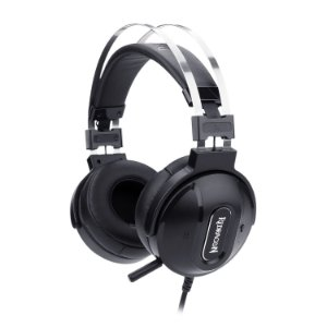 Headset Gamer Redragon Ladon 7.1, USB, Preto - H990