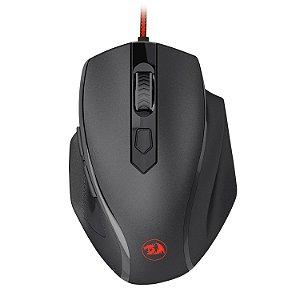 Mouse Gamer Redragon Tiger 2 M709, 3200 DPI, 6 Botões, LED Vermelho, Black