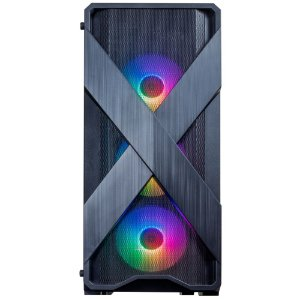 Gabinete Gamer Redragon Brawn, Mid Tower, S-Fan, Vidro Temperado, Black, S-fonte