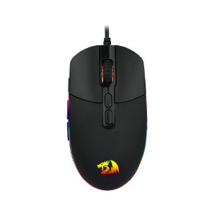 Mouse Gamer Redragon Invader M719 RGB, 10.000DPI, 8 Botões, Black