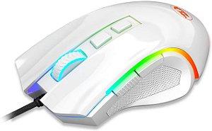 Mouse Redragon Gamer Griffin M607 RGB, 7200 DPI, 6 Botões, Lunar
