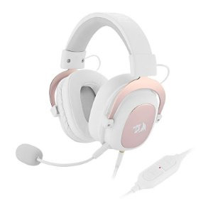 Headset Gamer Redragon Zeus 7.1 - Sakura Limited Edition
